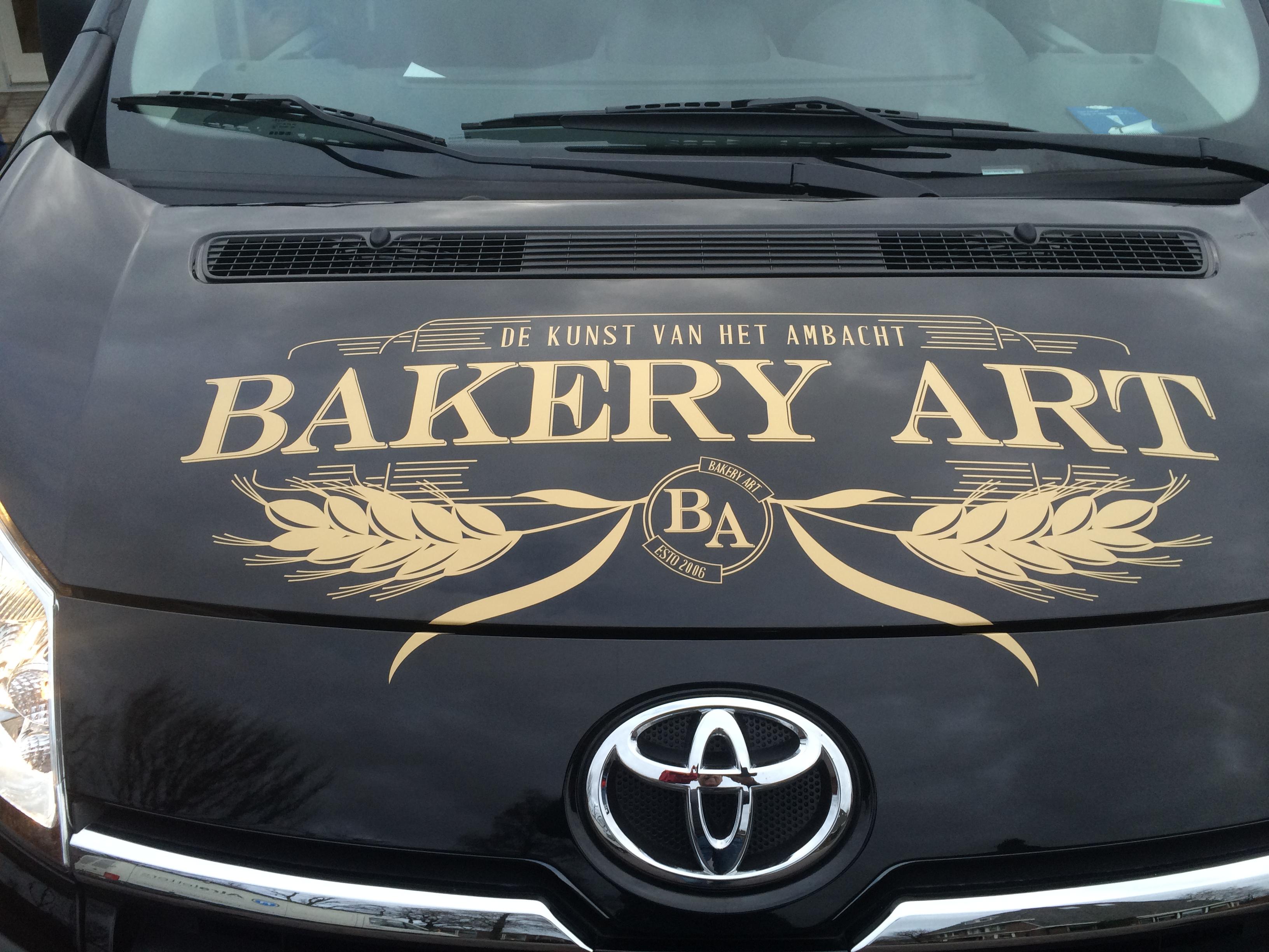 Autobelettering Bakery Art