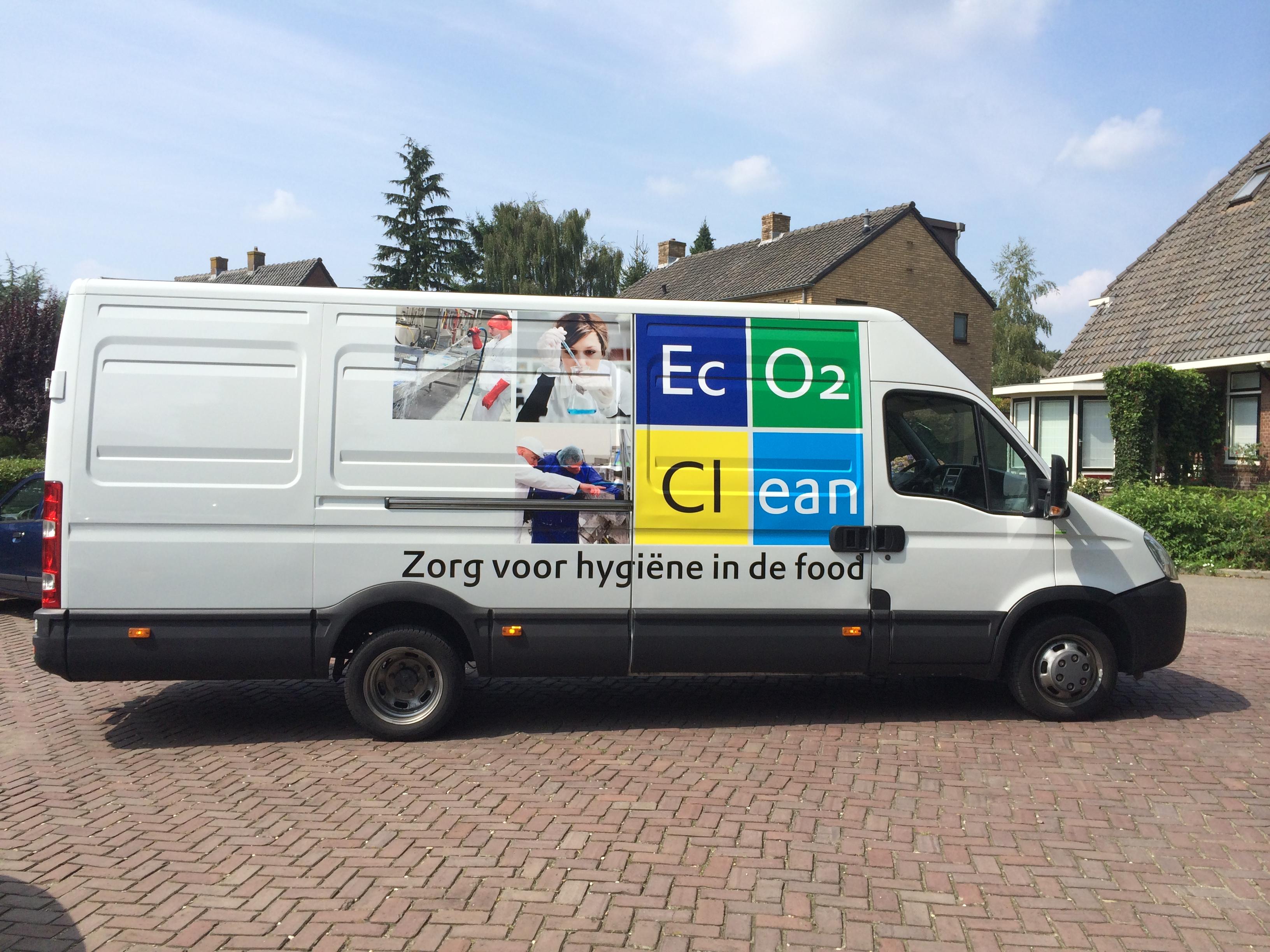 Autobelettering  Eco2clean