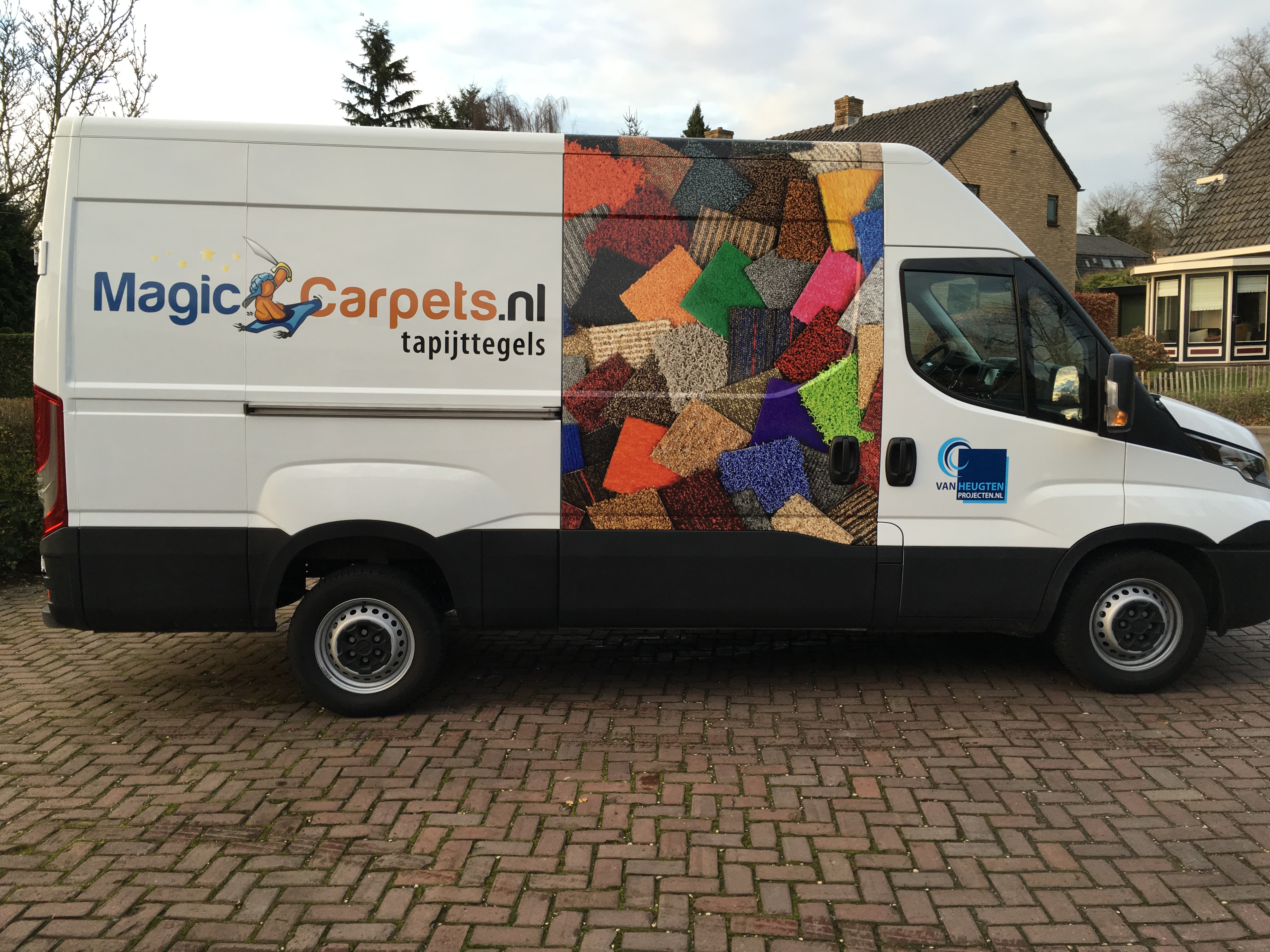 Autobelettering magiccarpets